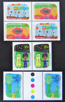 1999 Christmas Island Stamps - Favourite Festivals - Set of 4x2 MNH