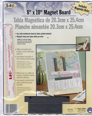 """LoRan Magnet Board - 8"""" x 10"""" - perfect for cross stitching charts and more"""
