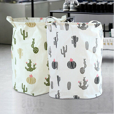 Cloth Waterproof Laundry Basket Thickness Foldable Clothes Storage Bag Home Tool