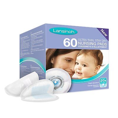 Lanisoh Breast Pads Disposable Nursing Pads (60 Pieces)