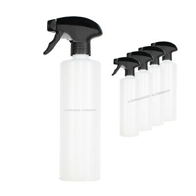 5 x 500ml Bottles Canyon Chemical Resistant Trigger Spray Autobright