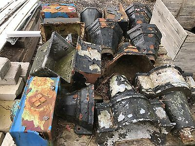 Old Cast Iron Planters/Hoppers