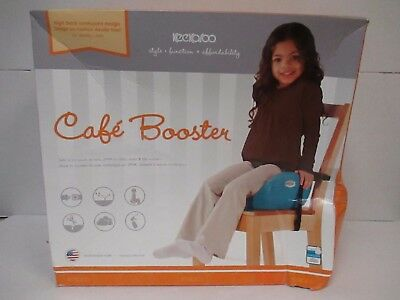 Keekaroo Cafè Booster High Back Design - 12+ Months - Chocolate - Rc 5377