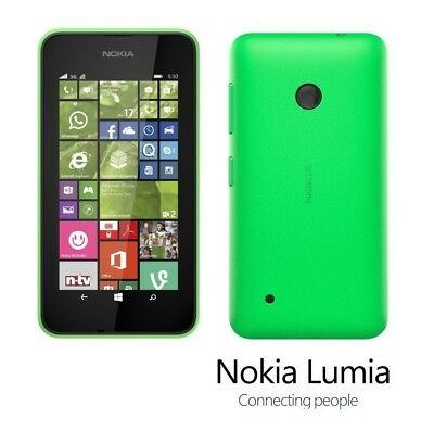 Nokia Lumia 530 in Grün Handy Dummy Attrappe - Requisit, Deko, Ausstellung