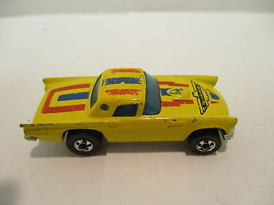 Hot Wheels Small Model '57 TBird  with  Strips   Vintage  Classic Collectable