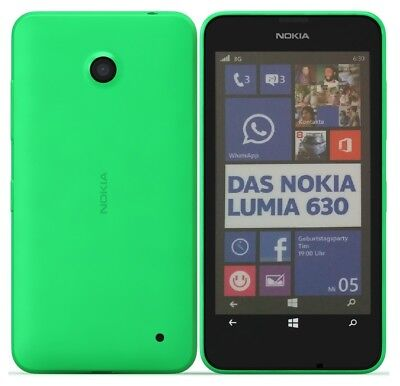 Nokia Lumia 630 in Grün Handy Dummy Attrappe - Requisit, Deko, Ausstellung