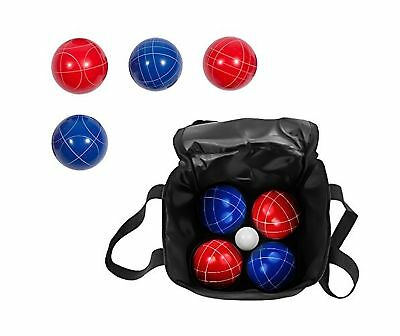 Trademark Innovations Bocce Set with Carry Case 90mm