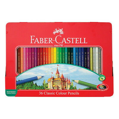 Faber-Castell Classic Color Pencil Tin Of 36