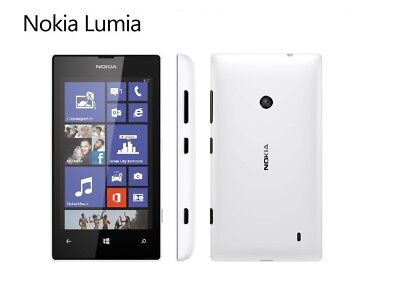 Nokia Lumia 520 in Weiß Handy Dummy Attrappe - Requisit, Deko, Ausstellung
