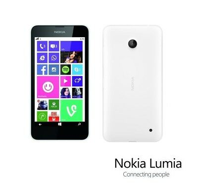Nokia Lumia 635 in Weiß Handy Dummy Attrappe - Requisit, Deko, Ausstellung