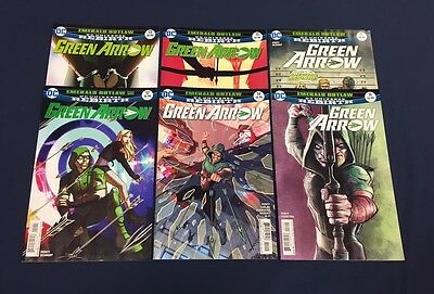 Green Arrow #12-17 : Complete Emerald Outlaw : Dc Rebirth 2017 : 13 14 15 16