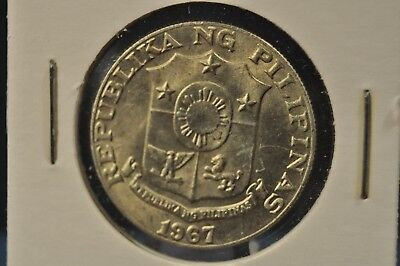 Philippines, 1967 - 50 Limampung Sentimos - Uncirculated - RH