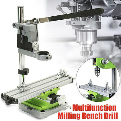 Mini Multifunction Working Table Milling Machine Worktable Set For Bench Drill G