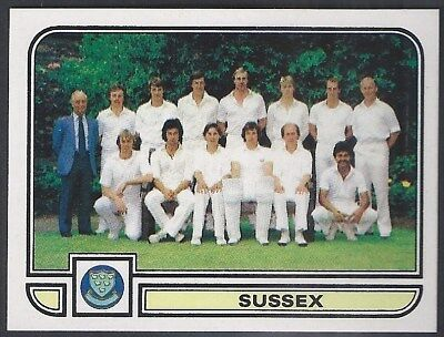 Panini-Cricket 83-#195- Sussex