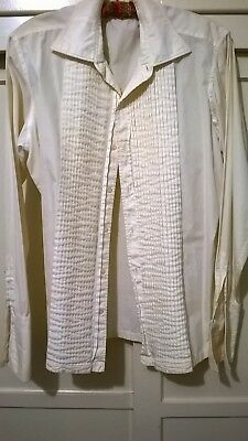 Sinatra dress shirt by Nat Wise made in June 1966