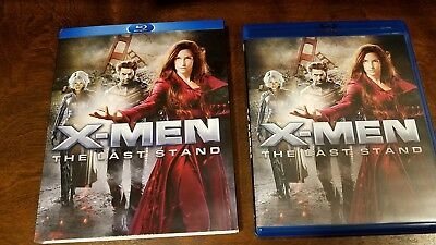 X-Men: The Last Stand (Blu-ray Disc, 2009, 2-Disc Set, Checkpoint Sensormatic Wi