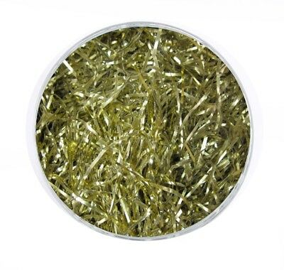 1KG Shiny Gold Shredded Foil Paper - Hamper Shred Packaging