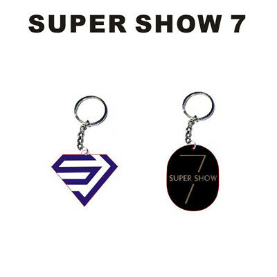 KPOP Super Junior Keyring Super Show 7 Keychain Phone Stand Holder Finger Ring
