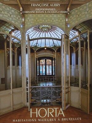 FRENCH BOOK : VICTOR HORTA (Belgian art nouveau architecture, furniture