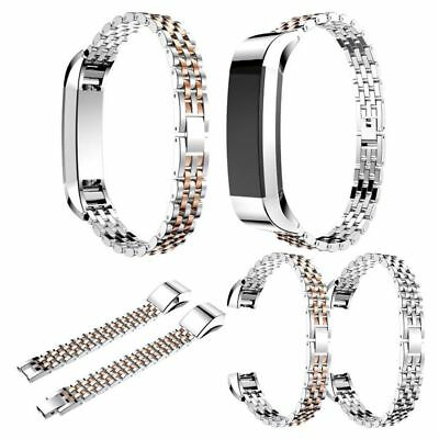 For Fitbit Alta/HR Metal Wrist Band Stainless Steel Bracelet Bangle Strap+Buckle