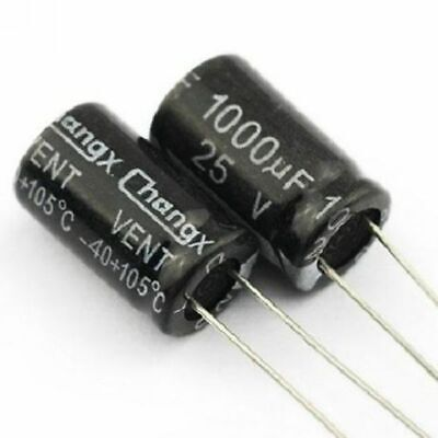 25V Electrolytic Capacitor 100 330 470 1000 2200 3300 4700 6800 10000 33000 uF