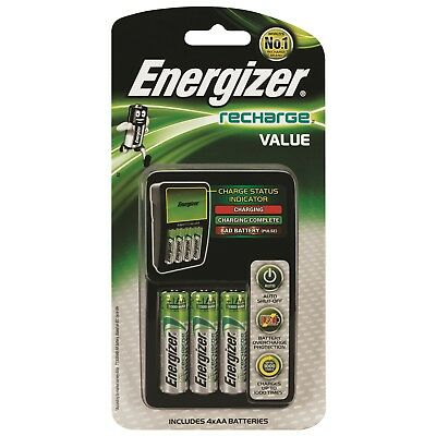 Energizer Value Battery Charger charge both AA and AAA batteries