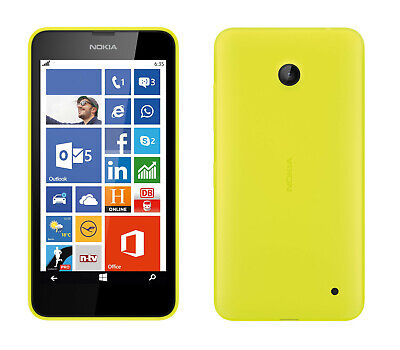 Nokia Lumia 630 in Yellow Handy Dummy Attrappe - Requisit, Deko, Ausstellung