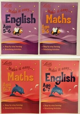 LETTS MATHS AND English, Home Fun Learning Activities ,Children Age ...