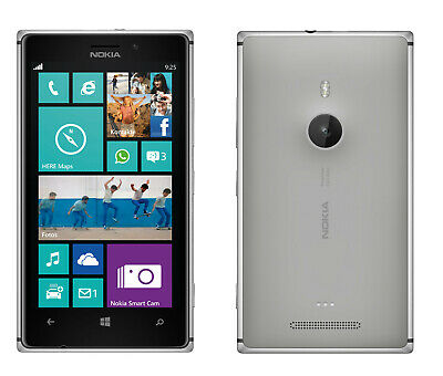 Nokia Lumia 925 in Grey Handy Dummy Attrappe - Requisit, Deko, Ausstellung