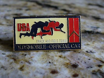 OLDSMOBILE Official Car- USA Track & Field Team Olympic Lapel Pin or Tie Tack