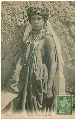 tunisie. n°35021.jeune fille des ouled nails.