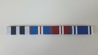 Queens Police, Golden,Queens Diamond Jubilee Medal, Police LSGC Sew on Ribbons