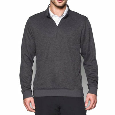 Under Armour Men's Storm Quarter Zip Sweater Fleece in Carbon Heather - XL