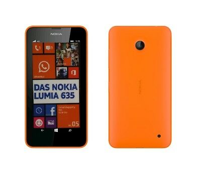 Nokia Lumia 635 in Orange Handy Dummy Attrappe - Requisit, Deko, Ausstellung