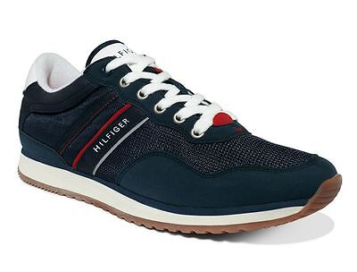 70722fd02d38a7 Tommy Hilfiger Men s Marcus Fashion Sneakers Dark Blue Size ...