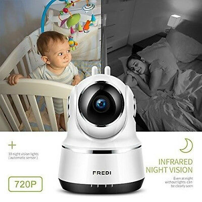 Baby Monitor Wireless Camera With Motion Detection - 2 Way Talk & Night Vision
