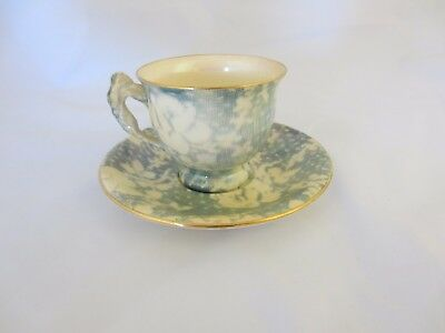 Vintage Royal Winton Opalescent Floral Cup And Saucer