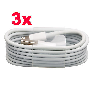 Extra Long 3M 2M 1M USB Charging Cable Charger Lead fit Apple iPhone 5 5S 5c 6 6