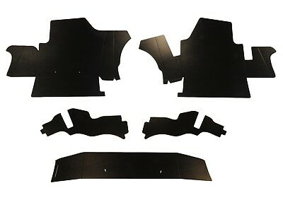 1959 - 1960 Cadillac Coupe Deville Trunk Side Panel Kit 5 Pieces
