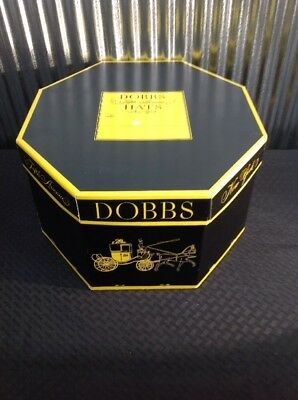 Vintage Dobbs Fifth Avenue New York Hat Box