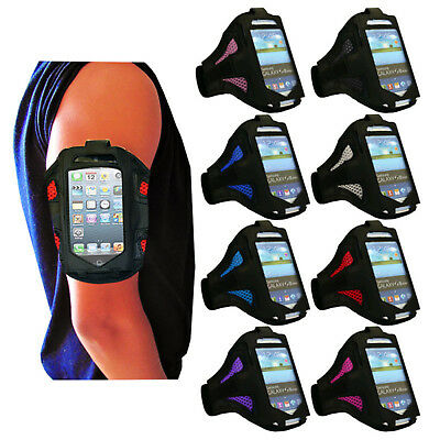 Sports Armband Case Holder Gym Running Jogging Arm Band Strap For Various Phones