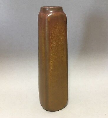 Early 1911 Rookwood Crystalline Ombroso Brown Vase Shape #1816 Shirayamadani