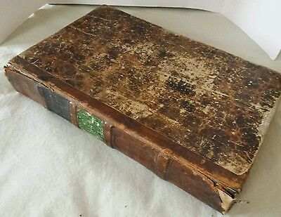 Vintage Late 1800's / Early 1900's Schillers Leather Book Written in German