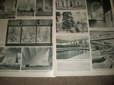 Photo article religious and modern architecture in Finland 1962 ref AX