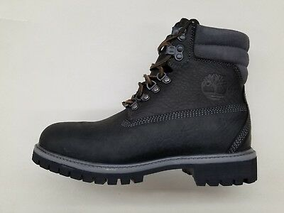 Timberland 640 Below Black Leather Grey Suede Mens Limited Release Boots A1M98