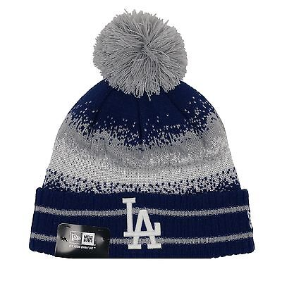 ce6c6af6 LOS ANGELES DODGERS MLB New Era Knit Cuffed Beanie Hat PICK YOUR STYLE