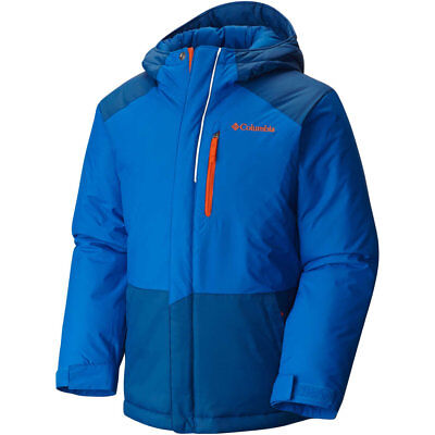"New Boys Columbia ""Lightning Lift"" Omni-Shield Insulated Hooded Winter Jacket"