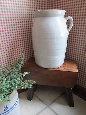 Antique Catawba Valley NC Pottery Ear Handle 4 gallon Crock Butter Churn