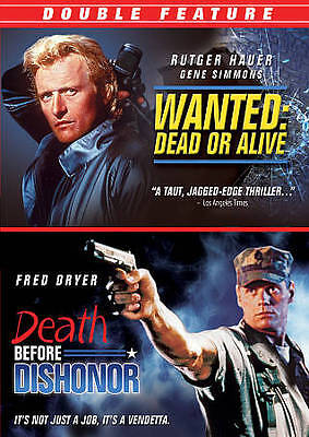 Wanted: Dead or Alive/Death Before Dishonor (DVD, 2011)