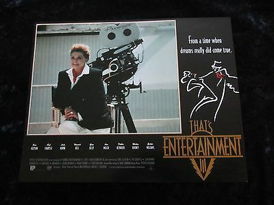 THATS ENTERTAINMENT PART III lobby card #5 MGM MUSICALS